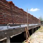 Elevación de muros