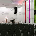 Interior hacia el altar