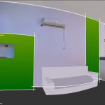 Diseño interior de pintura